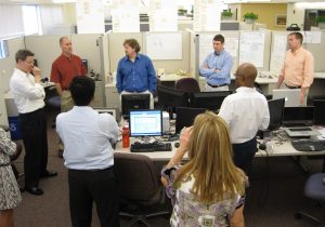 Don't Interrupt the Team! Two Ways to Know How Your Team is Doing without Interruption